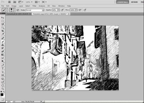 Видеокурс Создание рисунков в Фотошоп