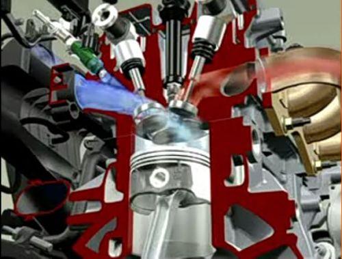 Видеокурс Устройство двигателя  внутреннего сгорания