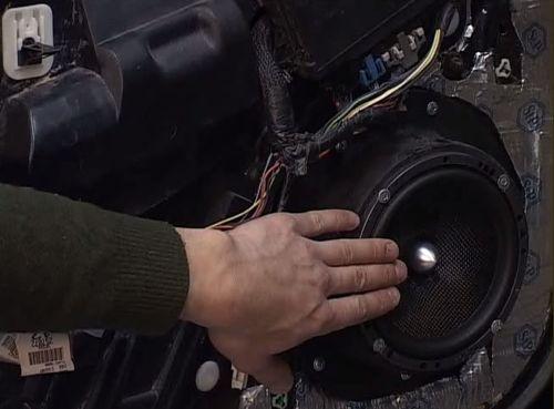 Видеокурс Установка акустической системы  в автомобиль