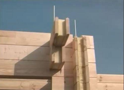 Видеокурс Строительство дома из бруса с полиуритановым утеплителем