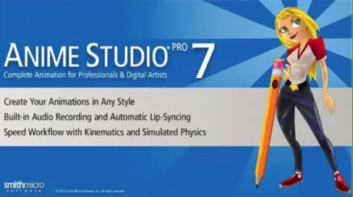 Видеокурс Anime studio Pro 7