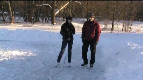 Видеокурс Учимся кататься на коньках