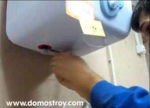 Видеокурс Монтаж  электрического водонагревателя