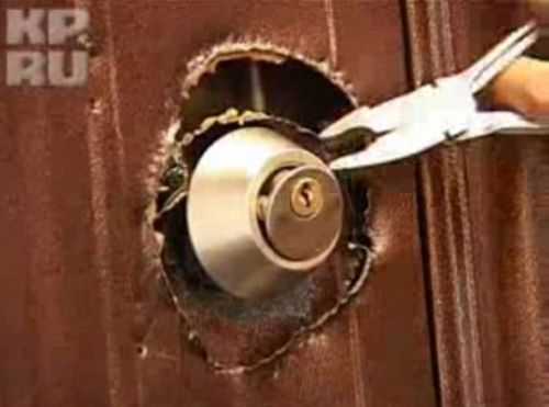 Видеокурс Как взломать металлически двери